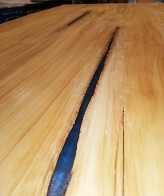 slab wood epoxy procedure