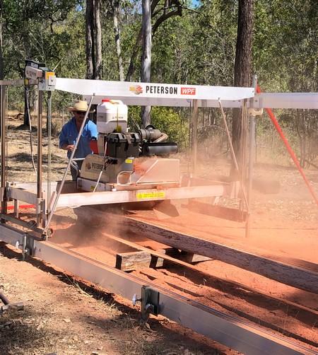milling australia logs