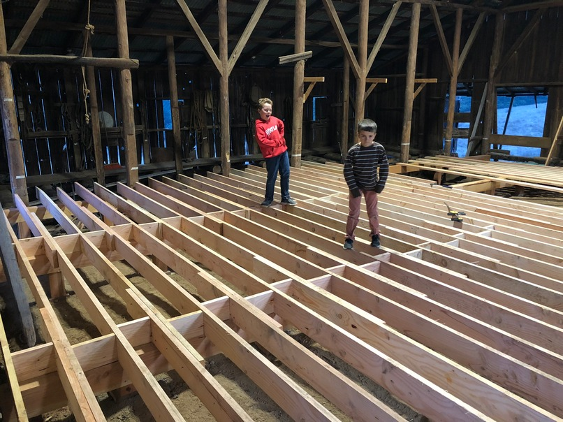 foundation boards, siding, framing lumber, trim boards