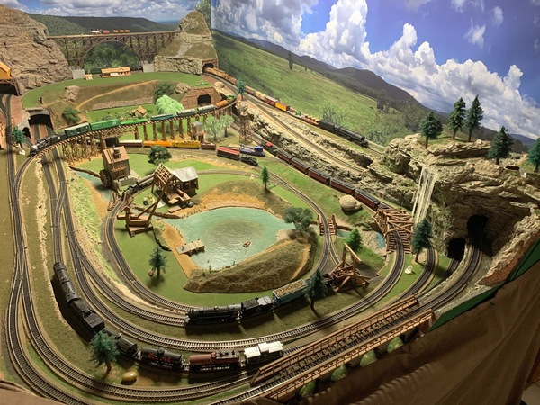model trains set