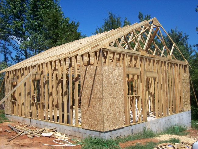 house building lumber