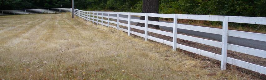 fence lumber