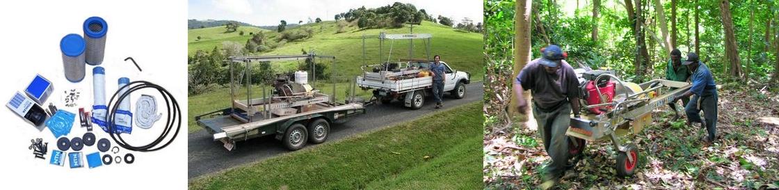 portable mill Remote Area Service Kit