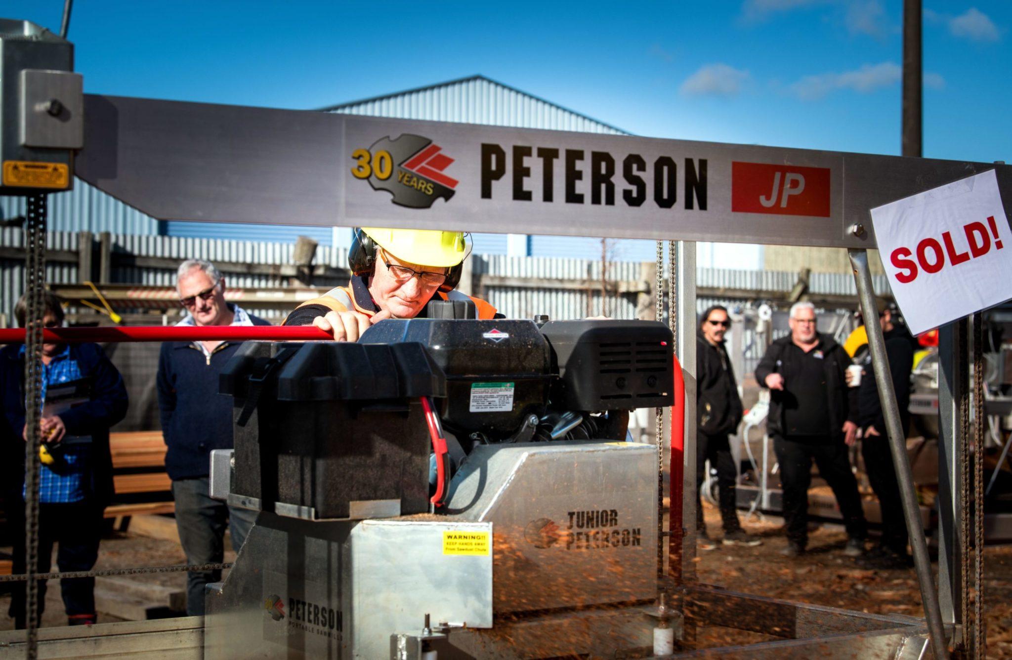 Peterson Sawmills Live Demonstration