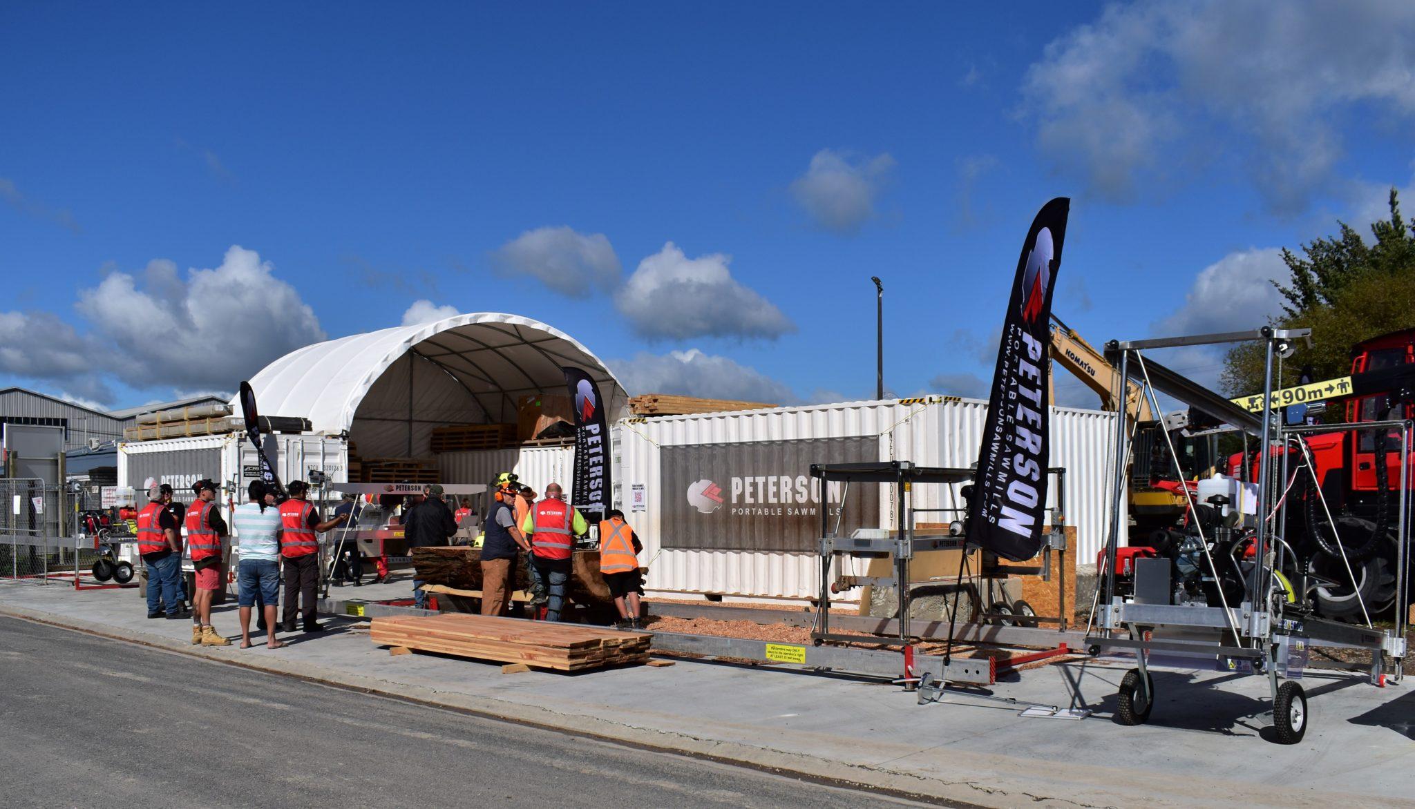 Peterson Portable Sawmills Factory, New Zealand
