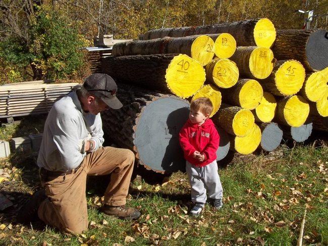 logging homesteading lumber timber